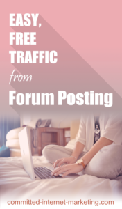 Easy-free-traffic-from-forum-posting
